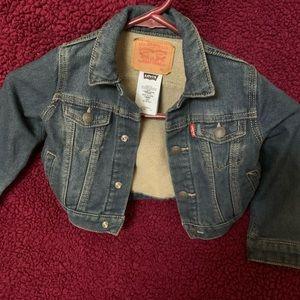 LEVIS - 18m Blue Jean Jacket   - $15